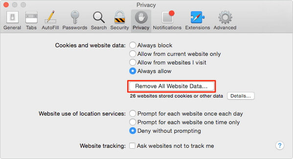 How to Delete Cookies on Mac in Safari