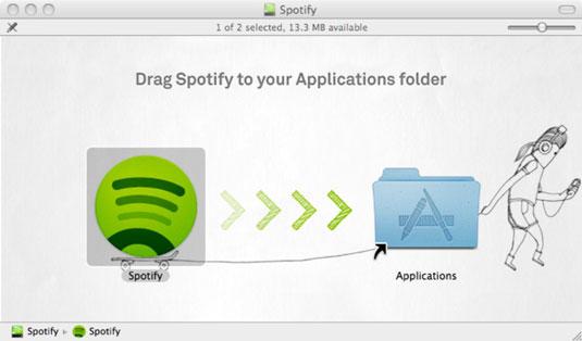 Scarica e installa Spotify per Mac