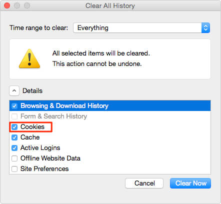 How to Delete Cookies on Mac in Firefox