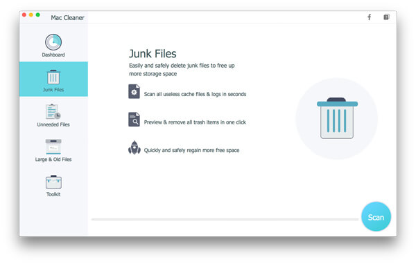 Scan Mac Junk Files