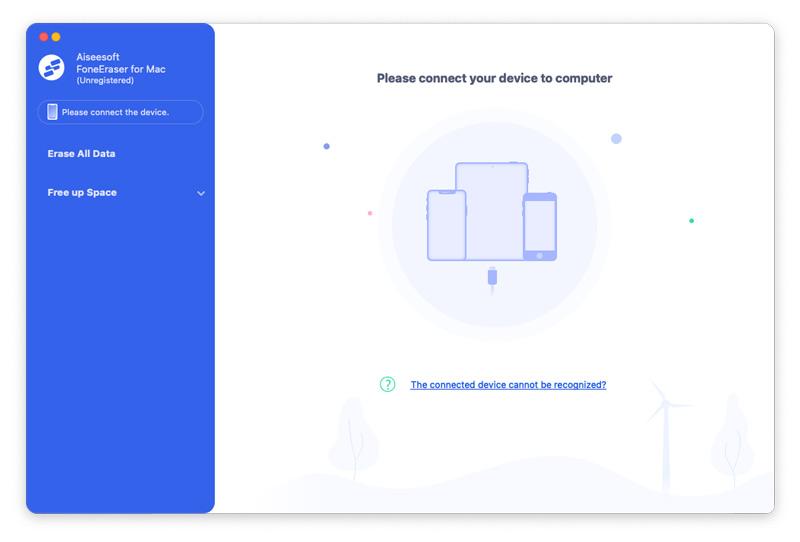 Aiseesoft FoneEraser for Mac full screenshot