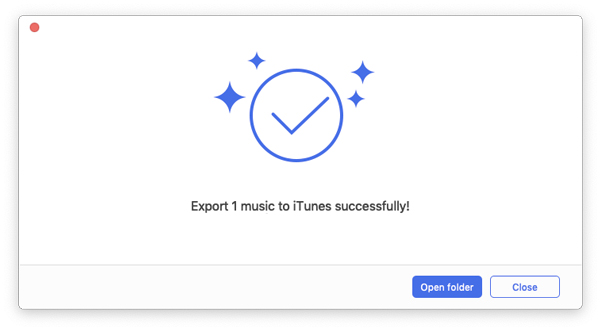 Click Export to > Export