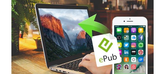 Převod iPhone ePub na Mac