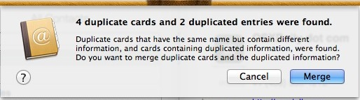 Merge iPhone Duplicate Contacts on Mac