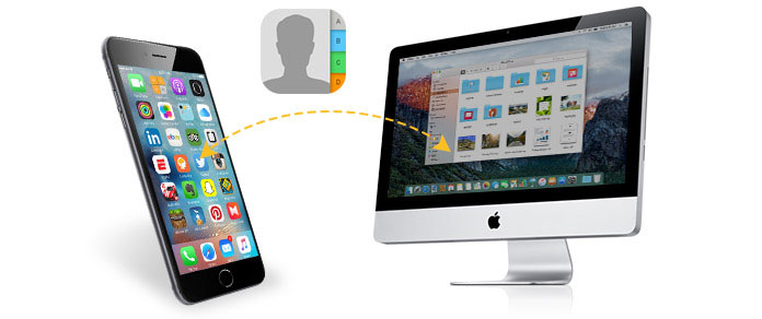 Sincronizza i contatti iPhone su Mac