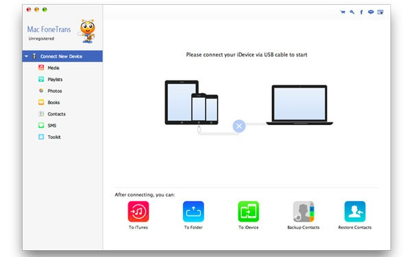 Collega iPad a Mac