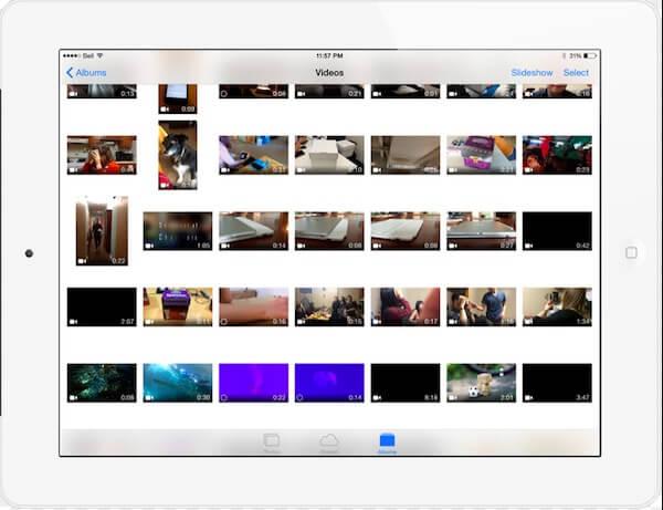 Preparati a trasferire le foto di iPad