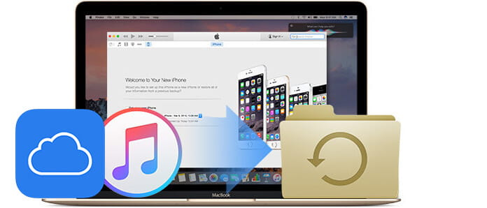 Εξαγωγή αντιγράφου ασφαλείας iPhone σε Mac