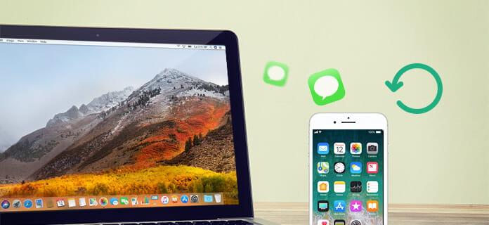 Recupera i messaggi dal dispositivo iOS su Mac