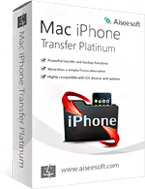 Aiseesoft Mac iPhone Transfer Platinum