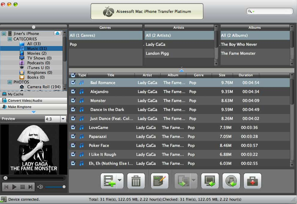 Aiseesoft Mac iPhone Transfer Platinum 6.3.30 full