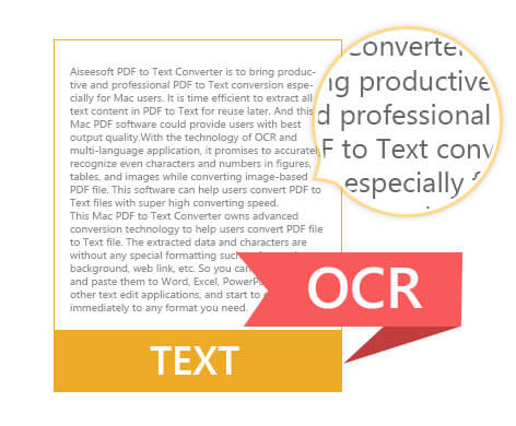 Promote PDF scanning efficiency with OCR