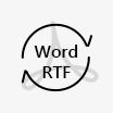 Μετατροπή Word ή RTF