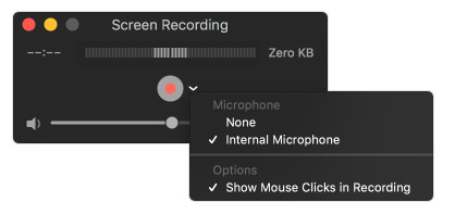 Screen Record Quicktime