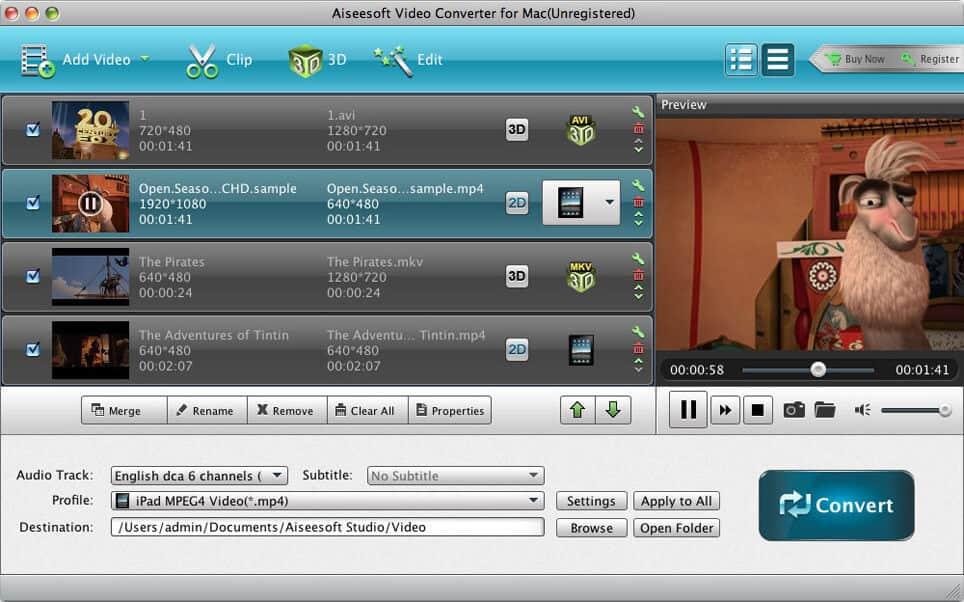 Aiseesoft Mac Video Converter Platinum 7.0.92 full