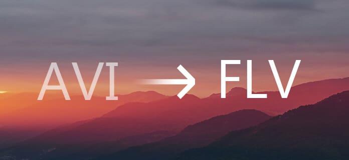 Convertire AVI in FLV