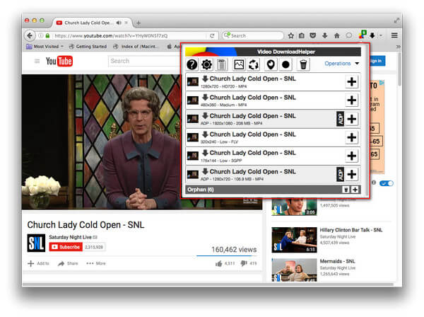 YouTube Downloader Mac Firefox
