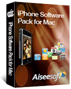 Aiseesoft iPhone Software Pack for Mac boxshot