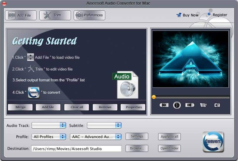 Aiseesoft Audio Converter for Mac 6.2.96 full