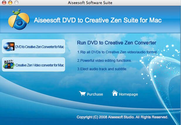 dvd to creative zen for Mac, creative zen video converter for Mac, Mac video con