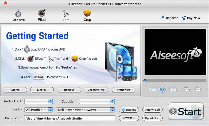 Best DVD to Pocket PC Converter for Mac.