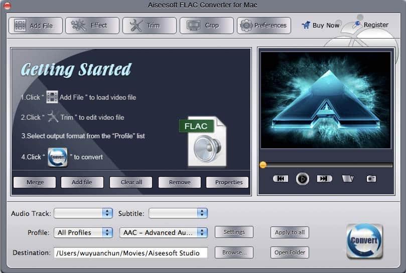 Aiseesoft FLAC Converter for Mac