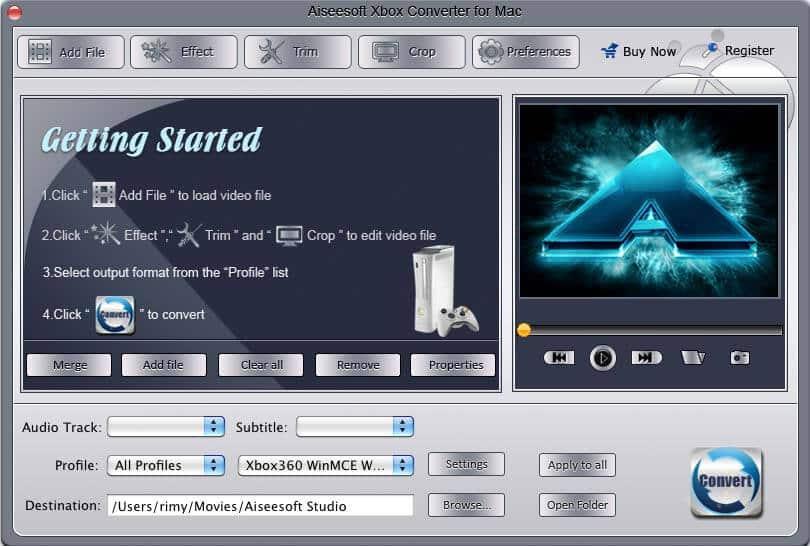 Aiseesoft Xbox Converter for Mac 3.2.18 full