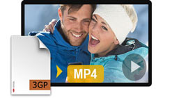 How to Convert 3GP to MP4