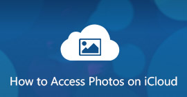 Access iCloud Photos or Pictures