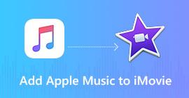 Aggiungi Apple Music a iMovie