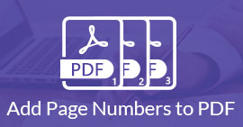 Adding Page Numbers to A PDF