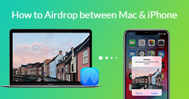 AirDrop Mac iPhone