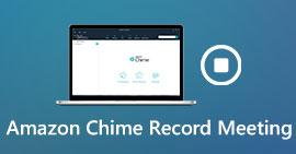 Ηχογραφήστε μια συνάντηση Amazon Chime