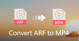 How to Convert ARF to MP4/WMV