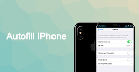 Riempimento automatico iPhone