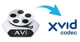 Hoe AVI naar XviD te converteren