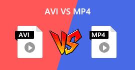 AVI versus MP4