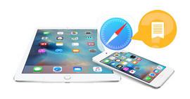 Backup e ripristino dei segnalibri di iPhone Safari