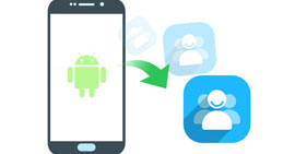 Transfer Android Contacts to PC