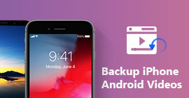 Backup dei video su iPhone / Android