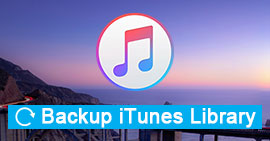Backup and Restore Your iTunes Library