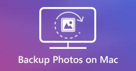 在Mac上備份照片