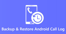 Backup and Restore Call Log