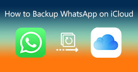 Backup di WhatsApp su iCloud