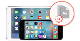 Cambia carattere Ios