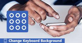 Cambia lo sfondo della tastiera