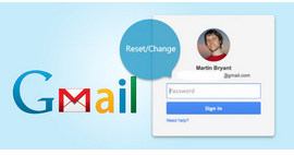 Change Reset Gmail Password