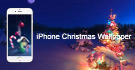 Kerst iPhone-achtergronden
