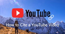 Cite A Youtube Video