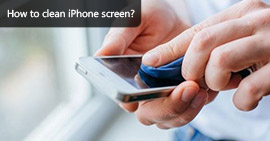 Disinfect and Clean iPhone Screen